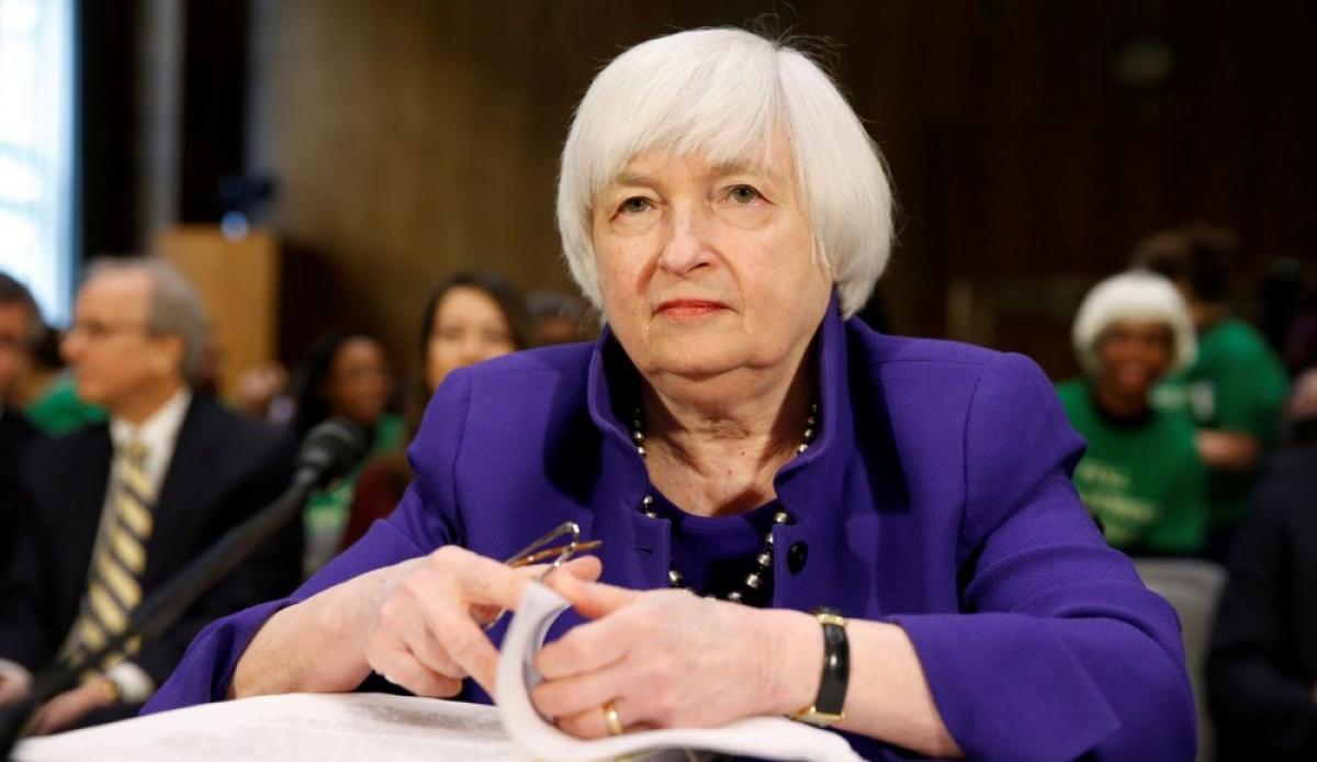 Bộ trưởng Tài chính Mỹ Janet Yellen (Nguồn: AFP)
