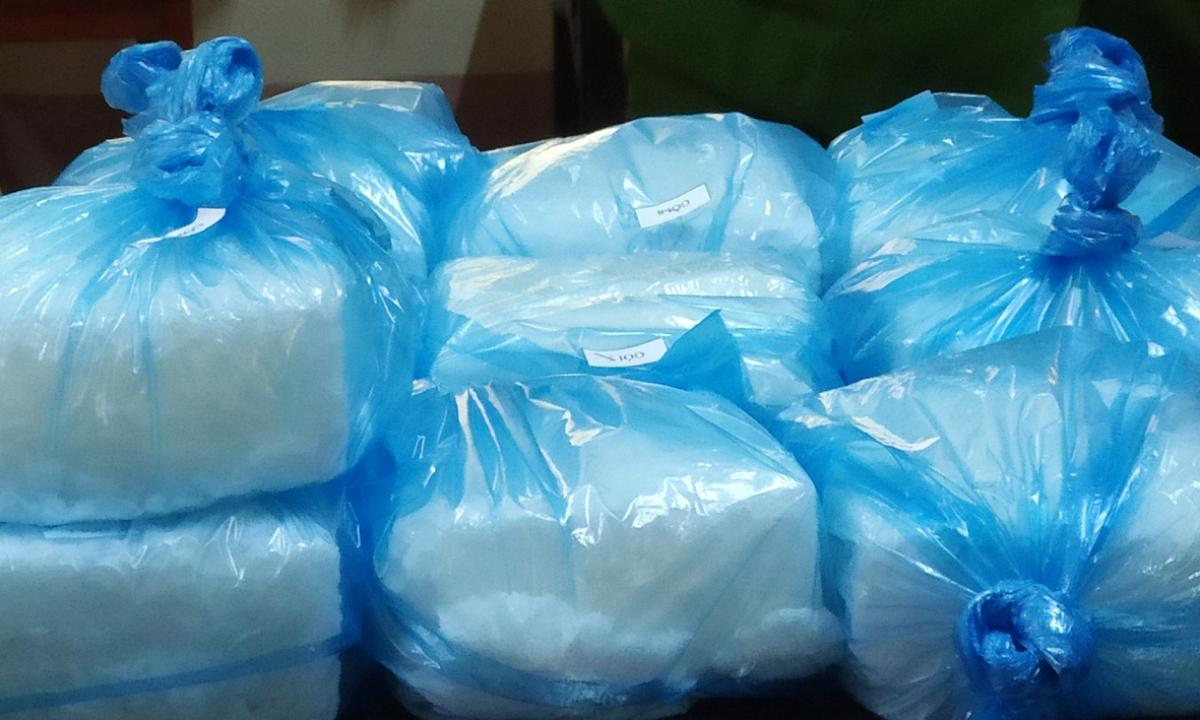 Ngay trong sáng nay (24/2), các lực lượng chức năng tỉnh Lai Châu đã tổ chức cân đếm, xác định số ma túy thu giữ trong đợt 2 điều tra mở rộng chuyên án là 32kg.