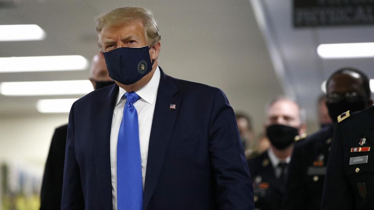 Cựu Tổng thống Mỹ Donald Trump. Ảnh: euronews