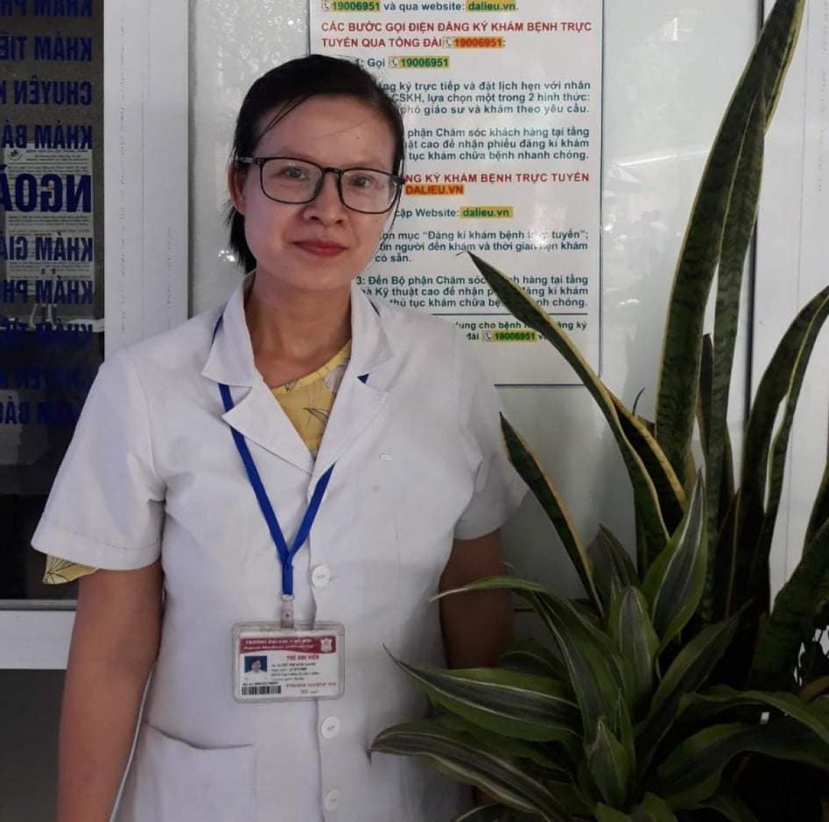 BS Đỗ Thị Kim Oanh.