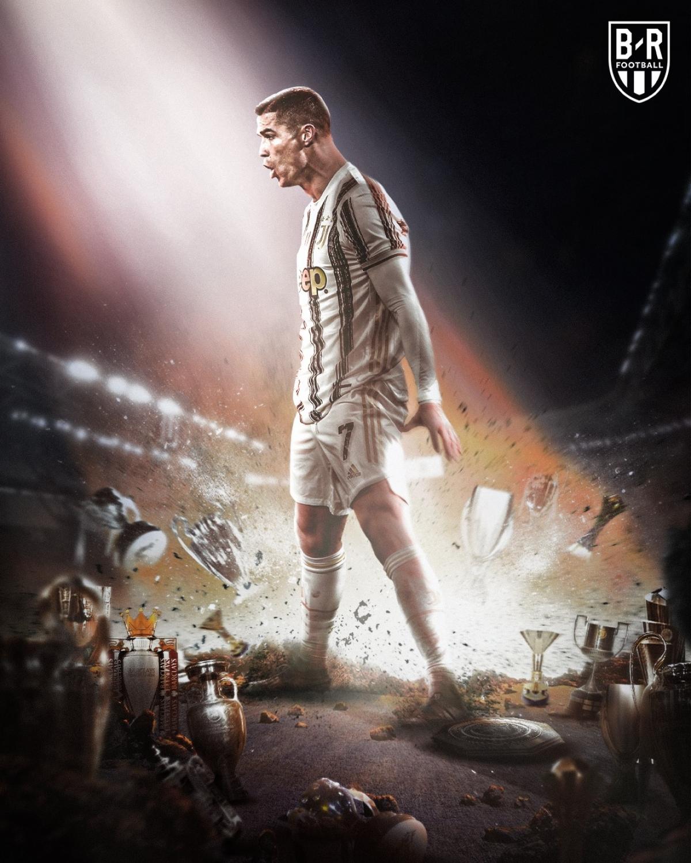 Cristiano Ronaldo cùng Juventus tiến vào chung kết Coppa Italia. (Ảnh: Bleacher Reports)