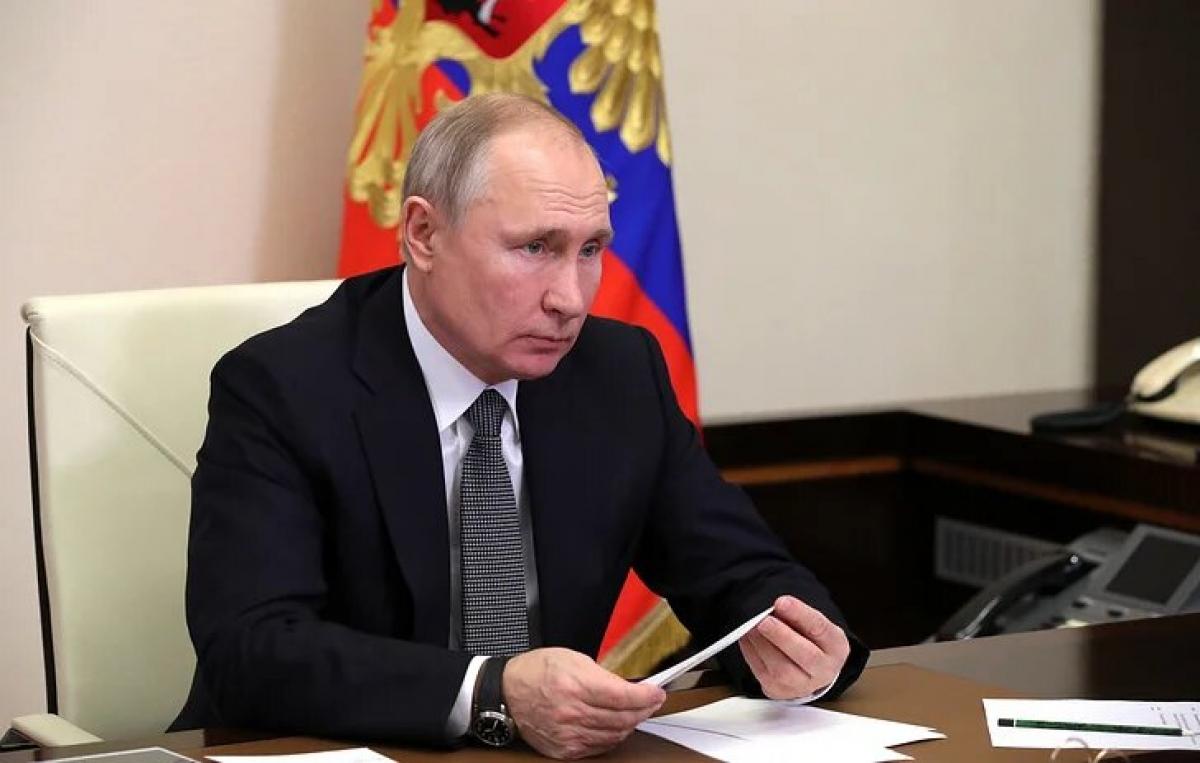 Tổng thống Nga V.Putin. Ảnh: Tass