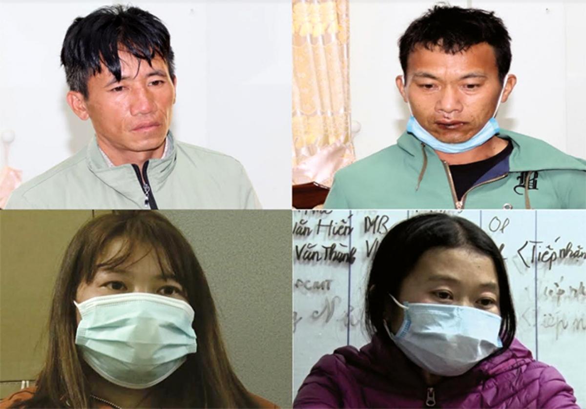 Như vậy, trong chuyên án này, tổng cộng đã có 4 đối tượng bị bắt giữ, gồm: Giàng A Dao, Giàng Thị Vang, Cứ A Làng đều thường trú tại huyện Mường Nhé (tỉnh Điện Biên) và Giàng Thị Chu, thường trú tại huyện Phong Thổ (tỉnh Lai Châu)
