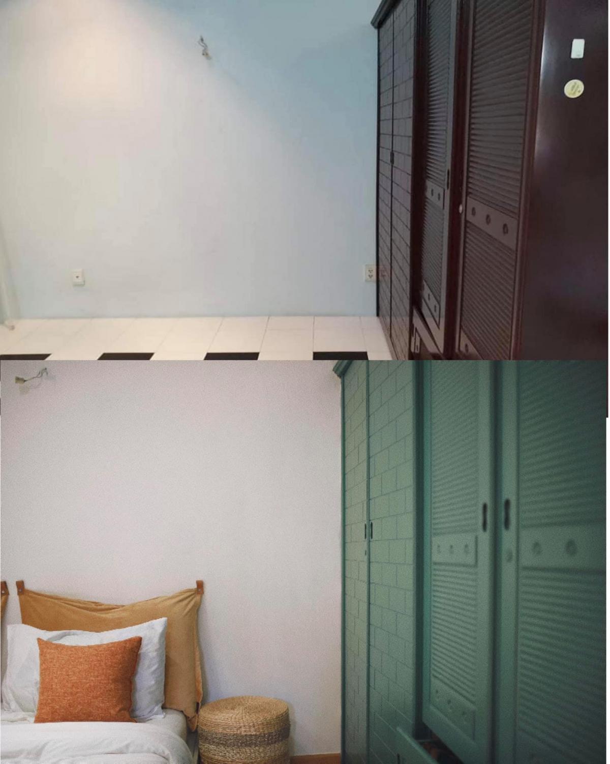 Anh Thái Hoàng chia sẻ dự án cải tạo căn hộ cũ do đích thân anh tự lên thiết kế, chỉ đạo thi công, bài trí nội thất Sài Gòn. Toàn bộ công trình được anh hoàn thành trong hai tháng với chi phí rất tiết kiệm.