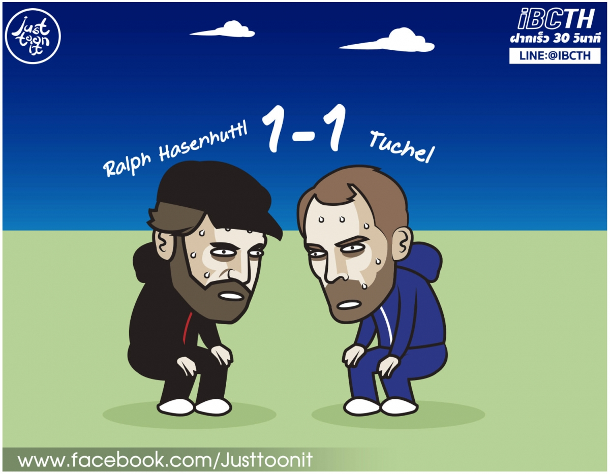 Chelsea bị Southampton cầm chân. (Ảnh: Just Toon It)