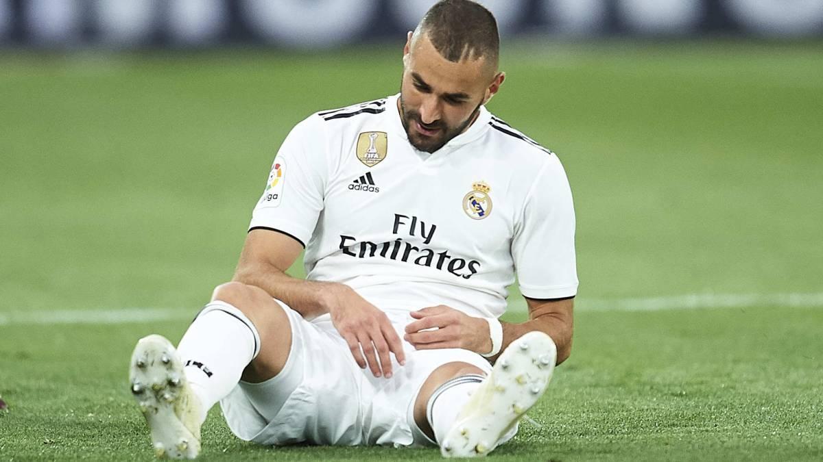 """Chấn thương của Benzema khiến Real Madrid phải mang đội hình """"chắp vá"""" đến làm khách của Atalanta. (Ảnh: Getty)."""