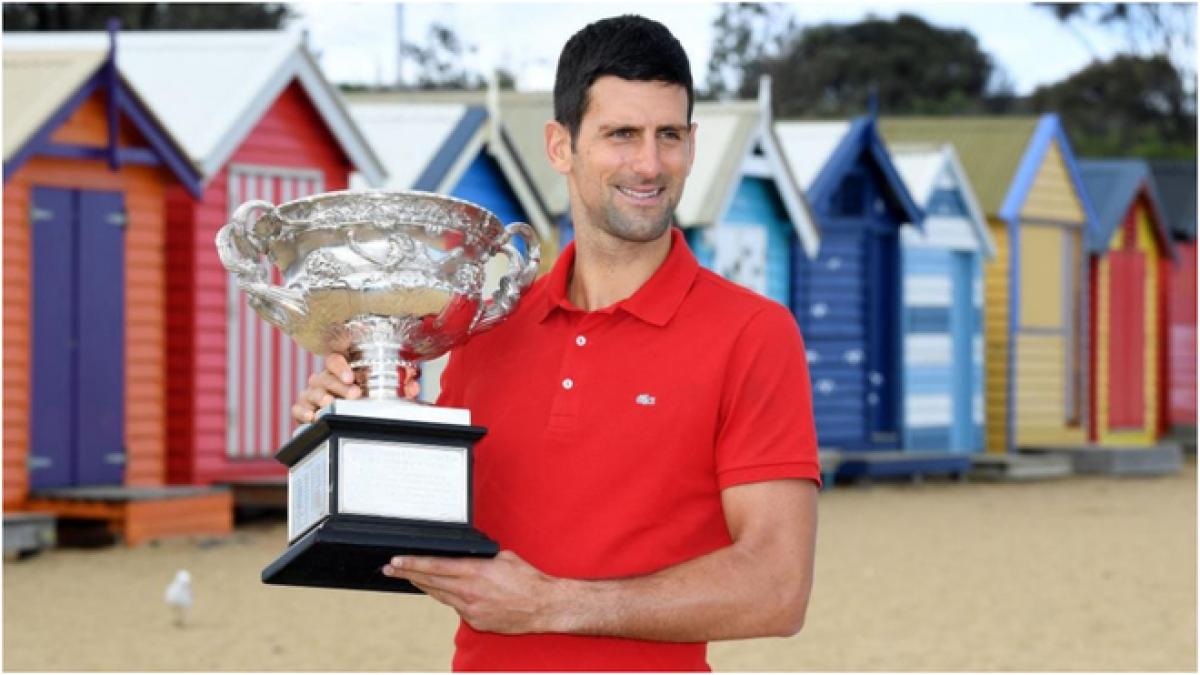 Djokovic nghỉ thi đấu dài hạn sau chức vô địch Australian Open 2021. (Ảnh: Getty).