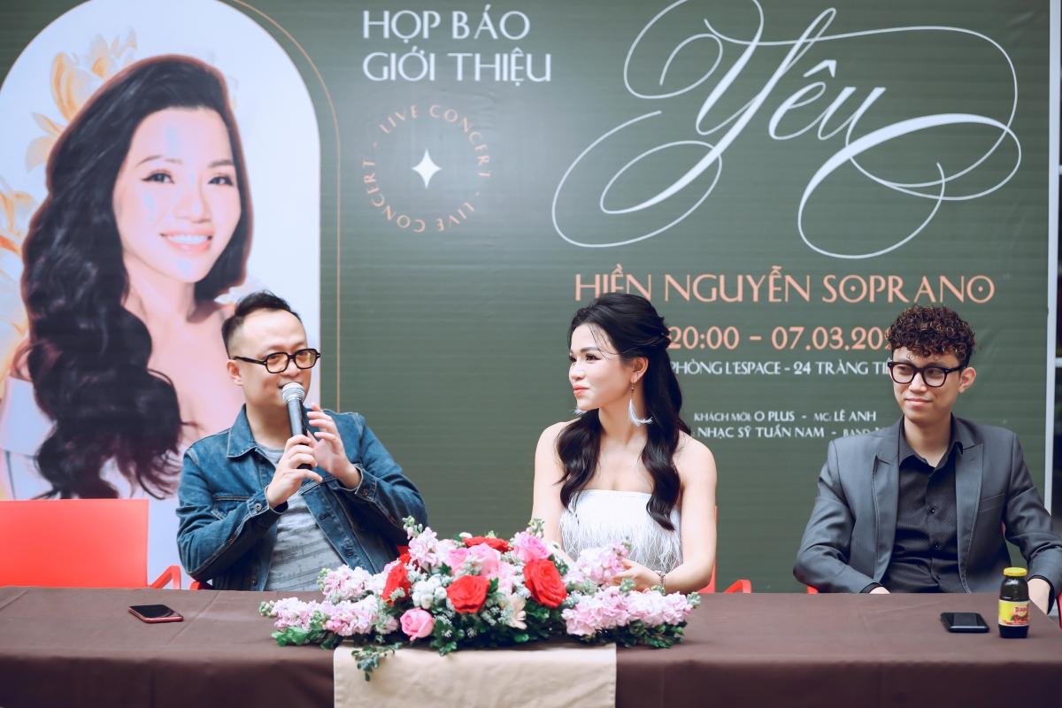 """Họp báo giới thiệu concert """"Yêu"""" tại Hà Nội."""