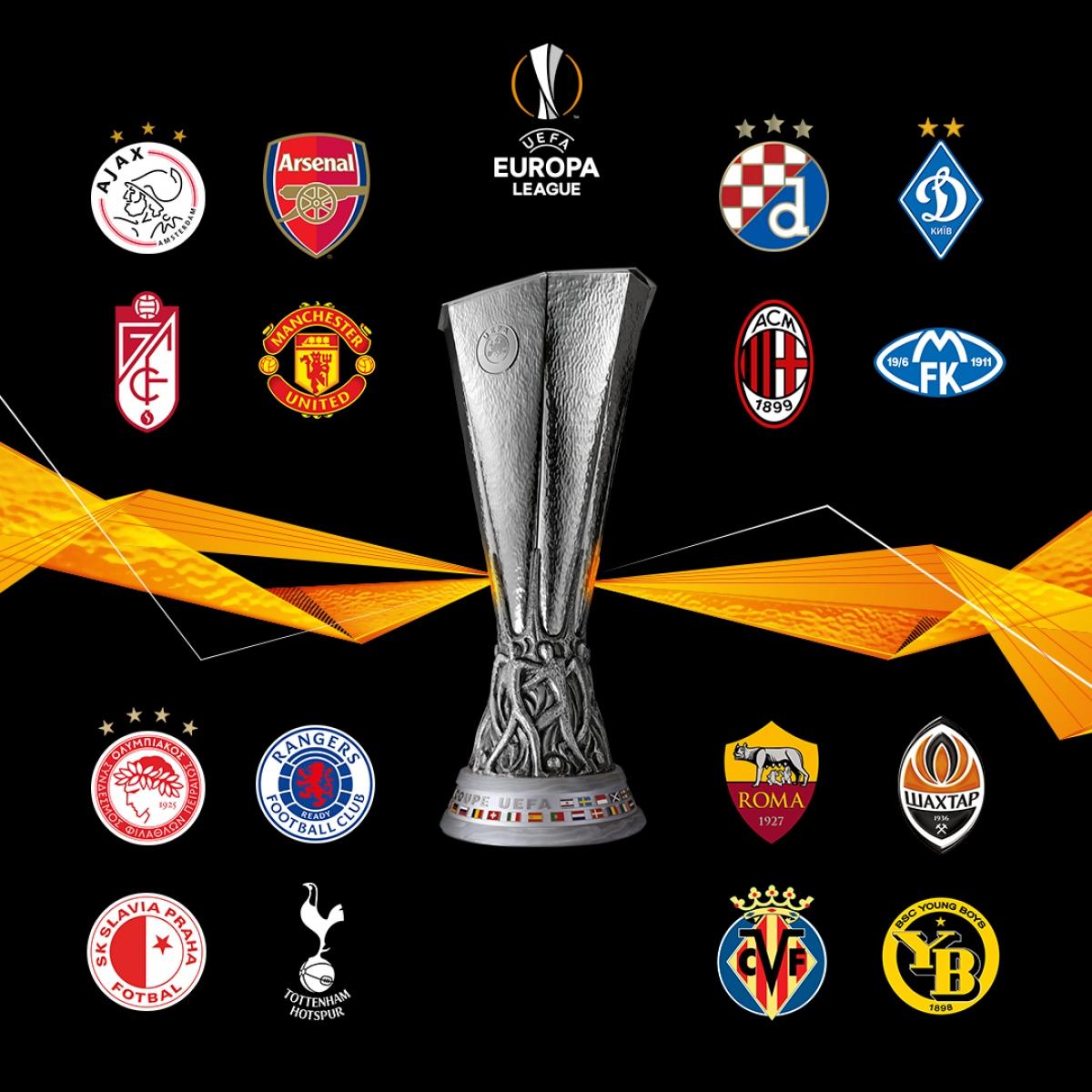 16 đội bóng giành vé đi tiếp ở Europa League 2020/2021.