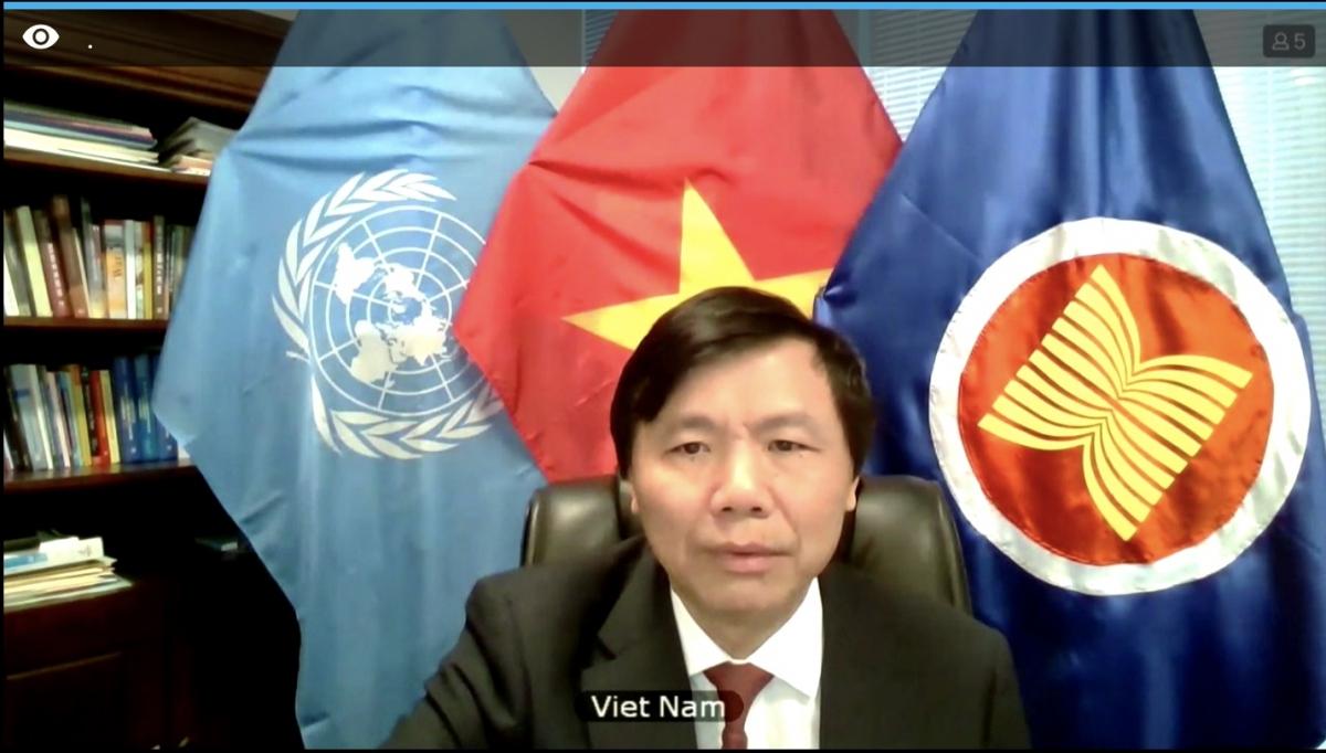 Đại sứ, Trưởng Phái đoàn Việt Nam tại Liên hợp quốc Đặng Đình Quý