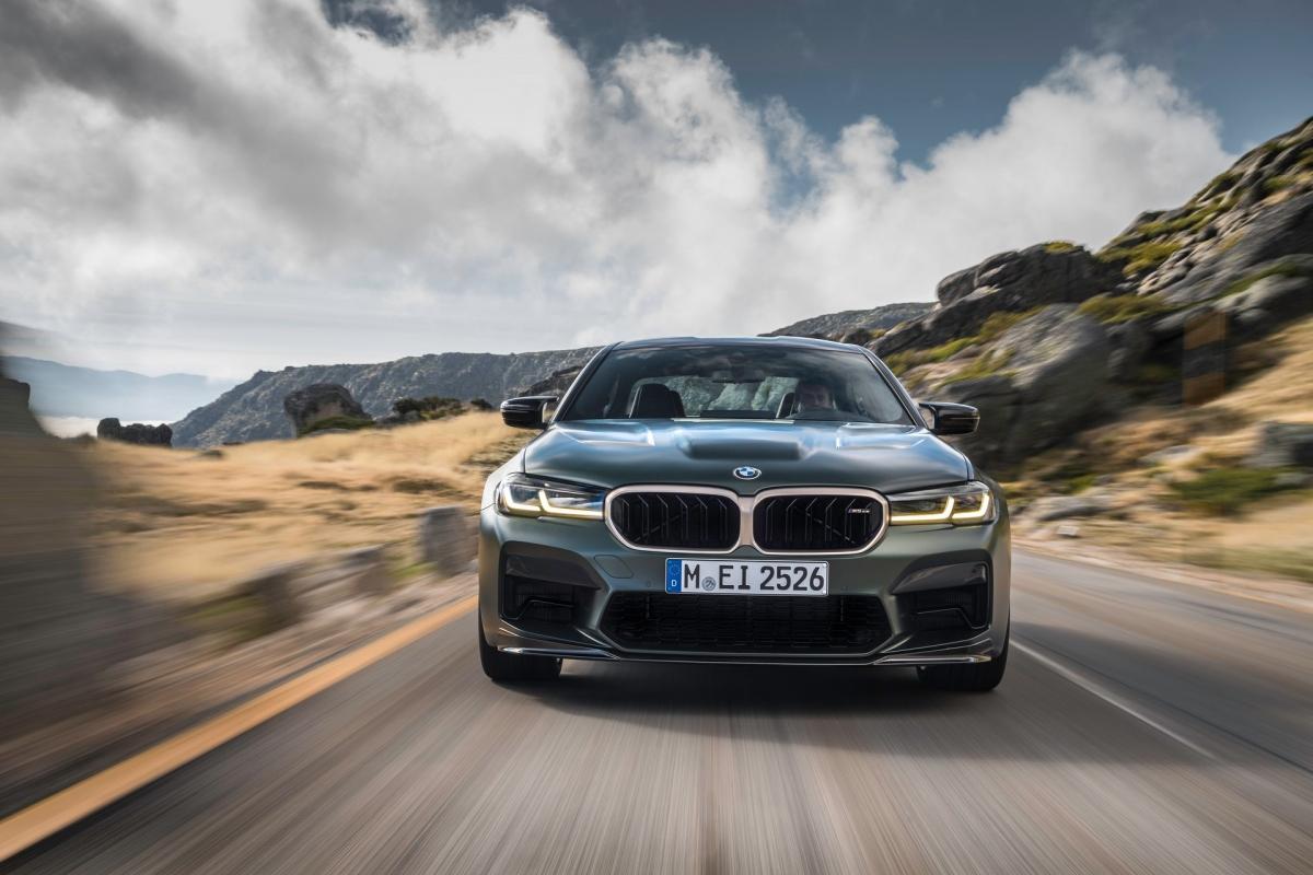 BMW M5 CS 2022.