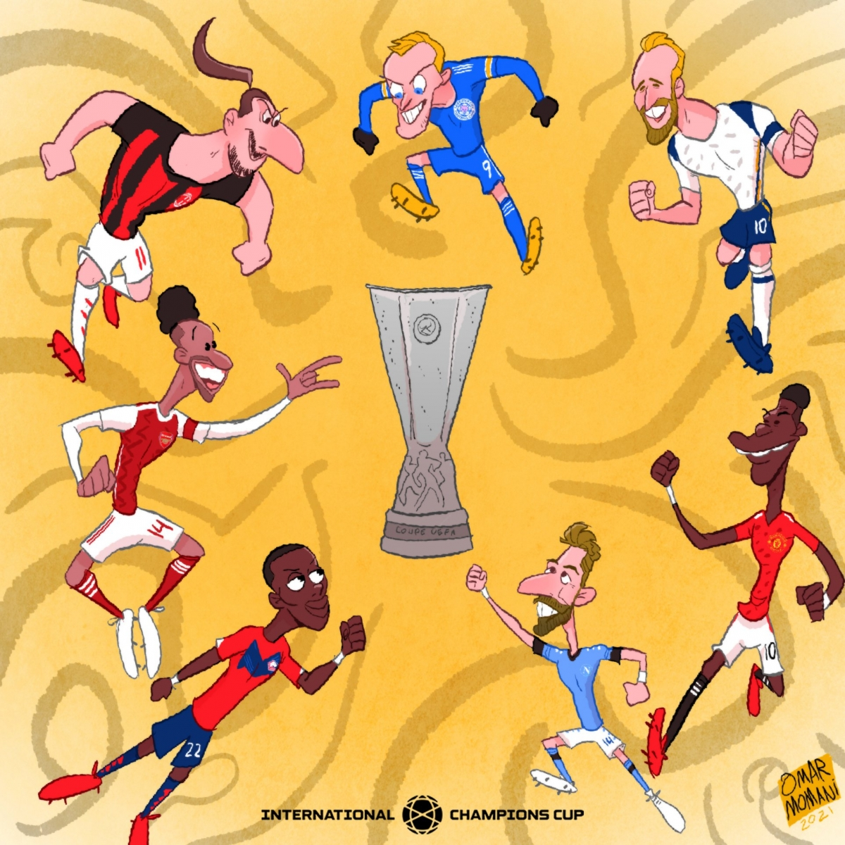 Sau Champions League là ngày hội của Europa League của những đội bóng lớn châu Âu.