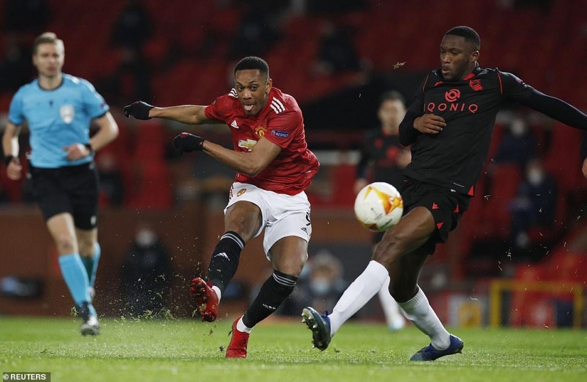 MU tiếp đón Sociedad trên sân Old Trafford sau khi giành chiến thắng 4-0 ở trận lượt đi.