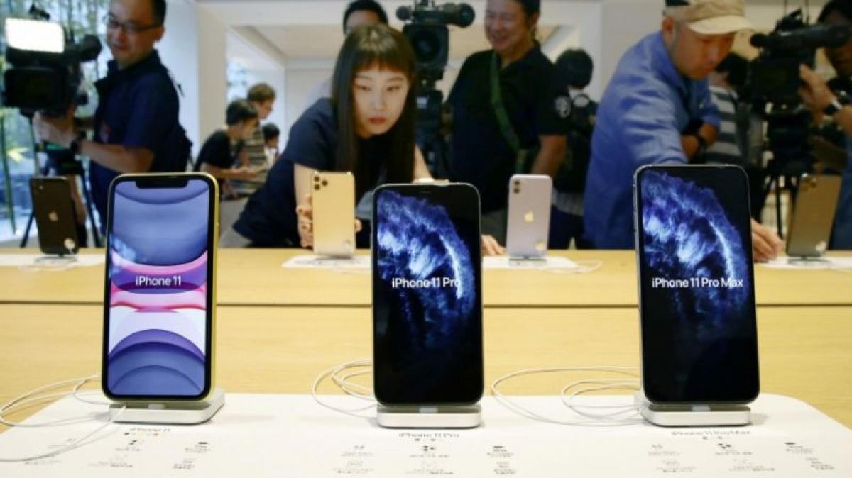 Người Nhật Bản vẫn ưa chuộng thương hiệu iPhone của Mỹ.