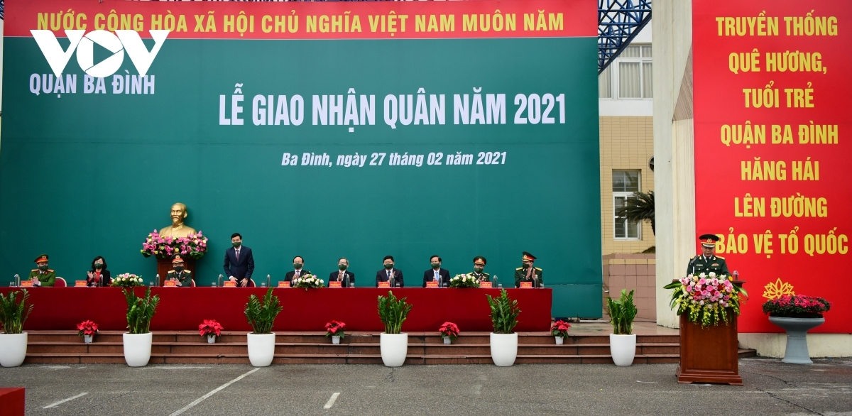 The event witnessed the participation of Nguyen Ngoc Tuan, deputy secretary of the Hanoi Party Committee, Chairman of the municipal People's Council.