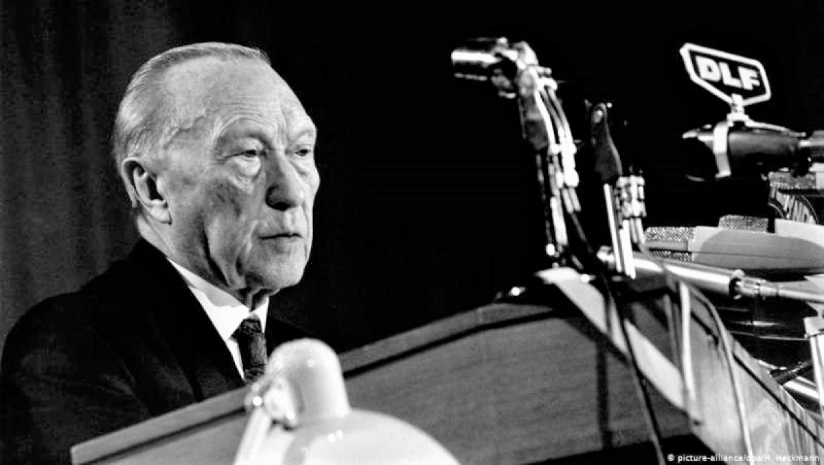 Cố Thủ tướng Liên bang Đức Konrad Adenauer; Nguồn: topwar.ru