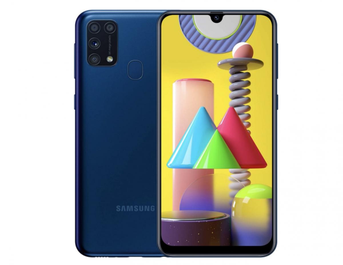 Được phát hành tháng 7 năm ngoái, Samsung Galaxy M31 được đánh giá cao với hiệu suất tốt, màn hình Super Amoled 6,4 inch và khả năng hiển thị ảnh (ở 4K) trong ánh sáng ban ngày và pin bền bỉ.