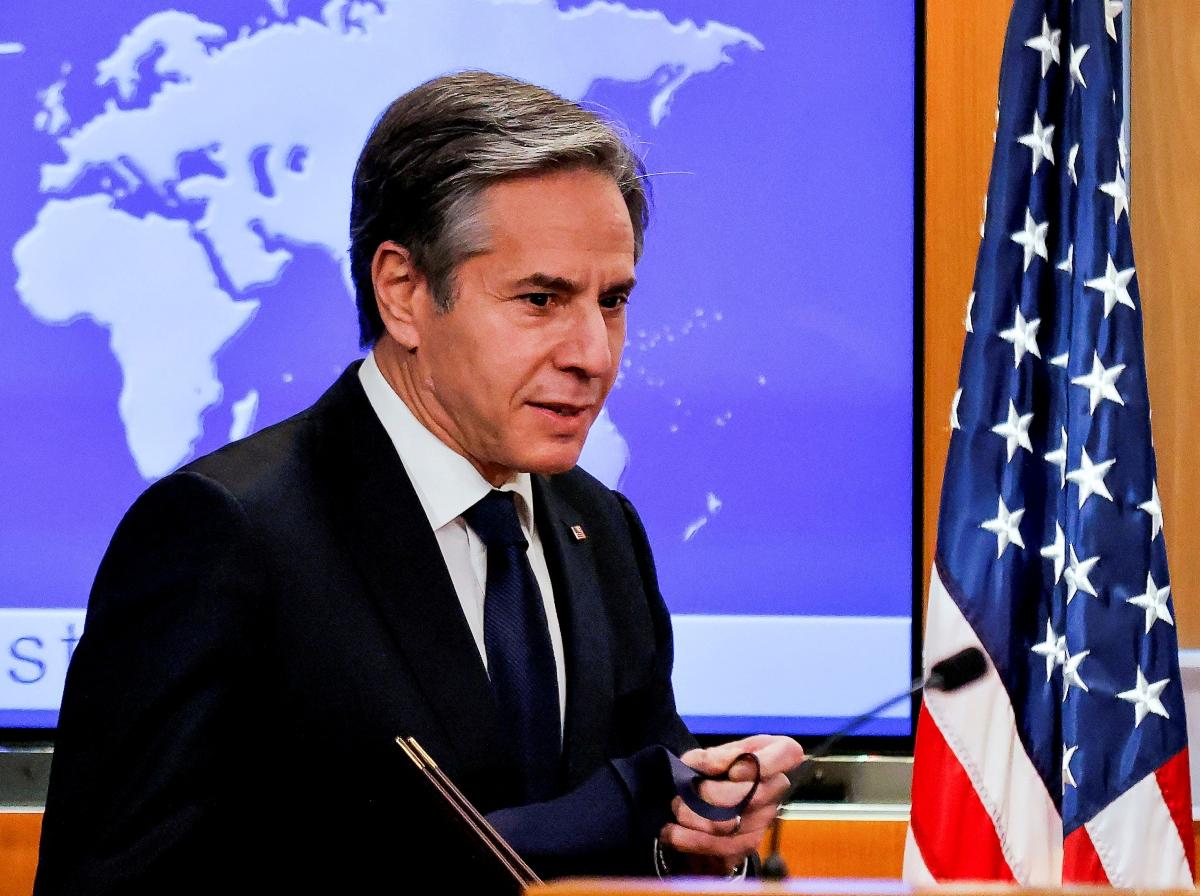Ngoại trưởng Mỹ Antony Blinken. Nguồn: Reuters