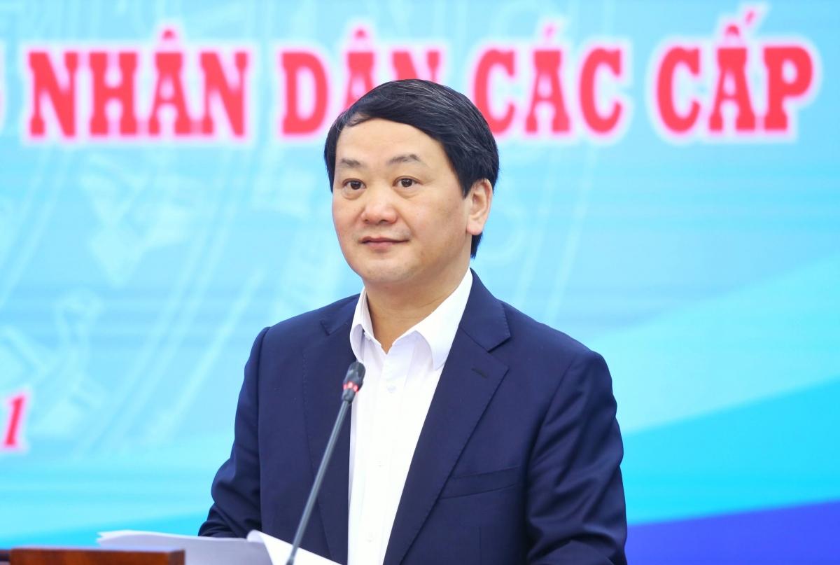Phó Chủ tịch - Tổng Thư ký UBTW MTTQ Việt Nam Hầu A Lềnh cho biếtkhối MTTQ và các tổ chức thành viên của Mặt trận có 70 người được giới thiệu ứng cử đại biểu Quốc hội.