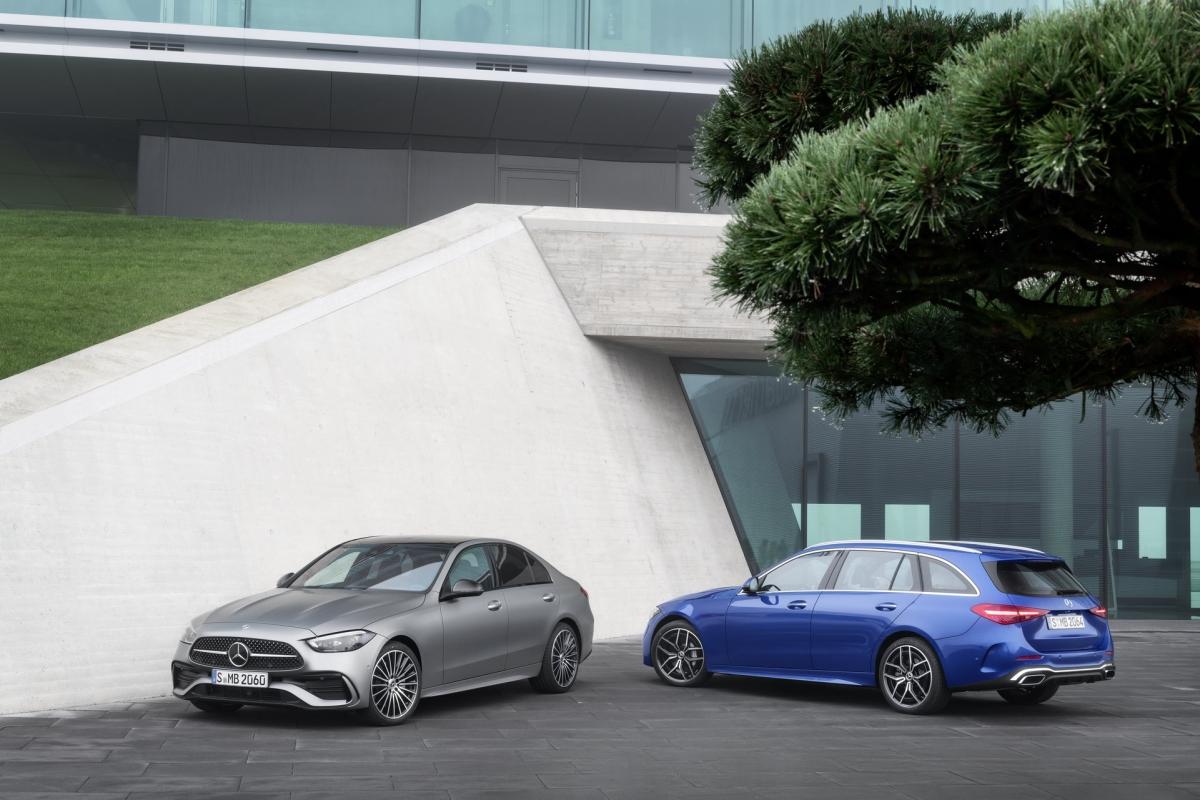 Mercedes-Benz C-Class mới sẽ có biến thể sedan và wagon (tùy thị trường).