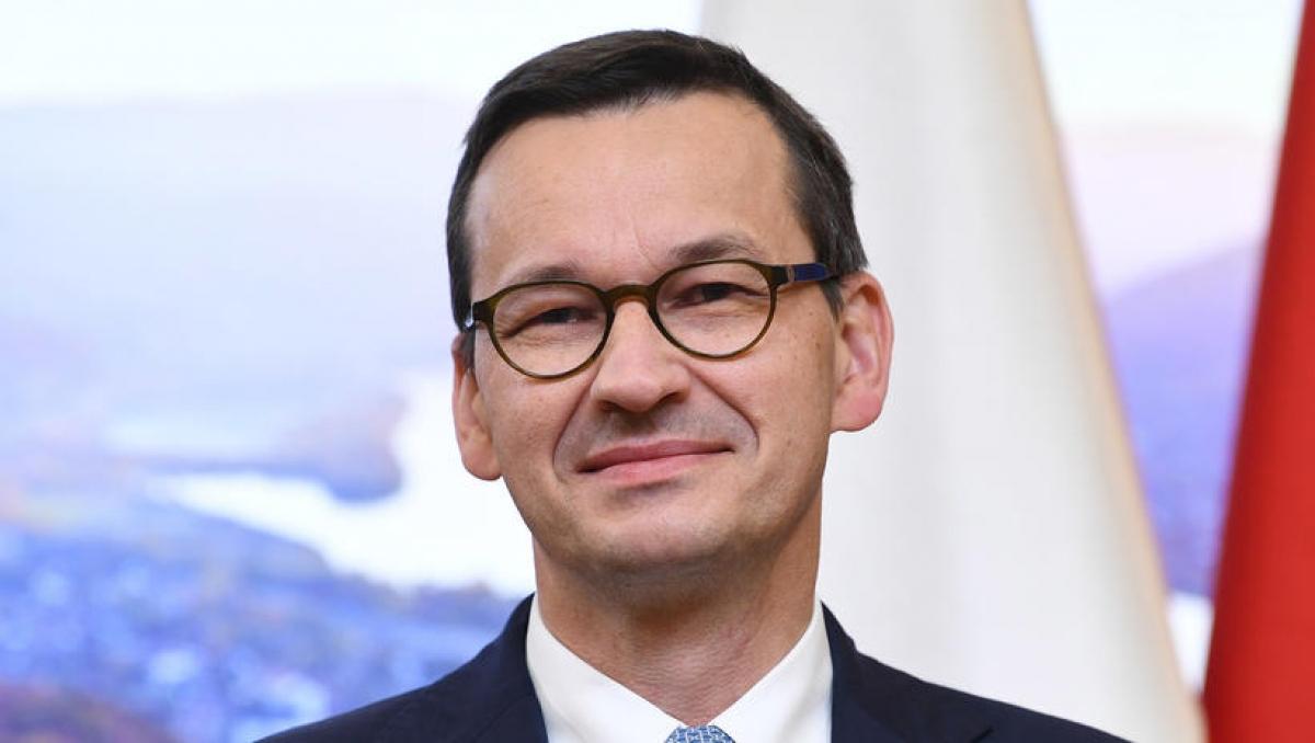 Thủ tướng Ba Lan Mateusz Morawiecki (Ảnh: PAP)