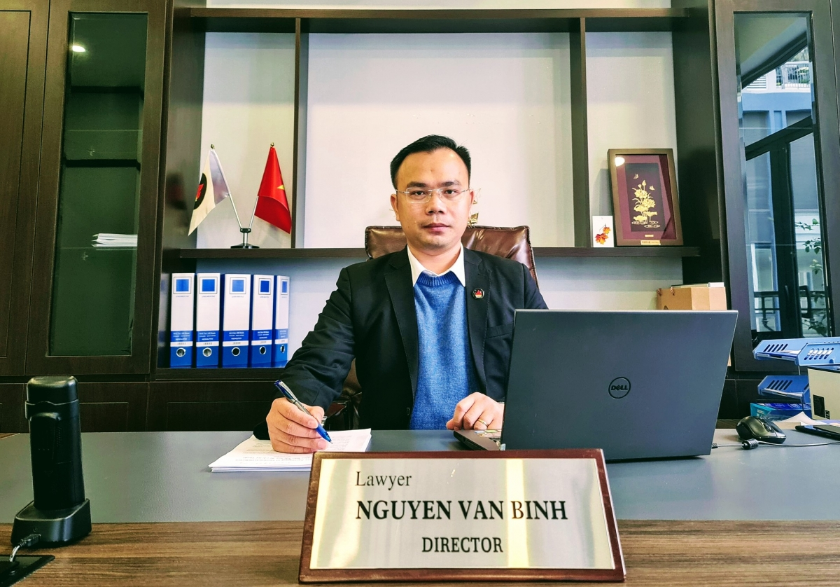 Nguyễn Văn Bình - Giám đốc công tư Luật Aladin.