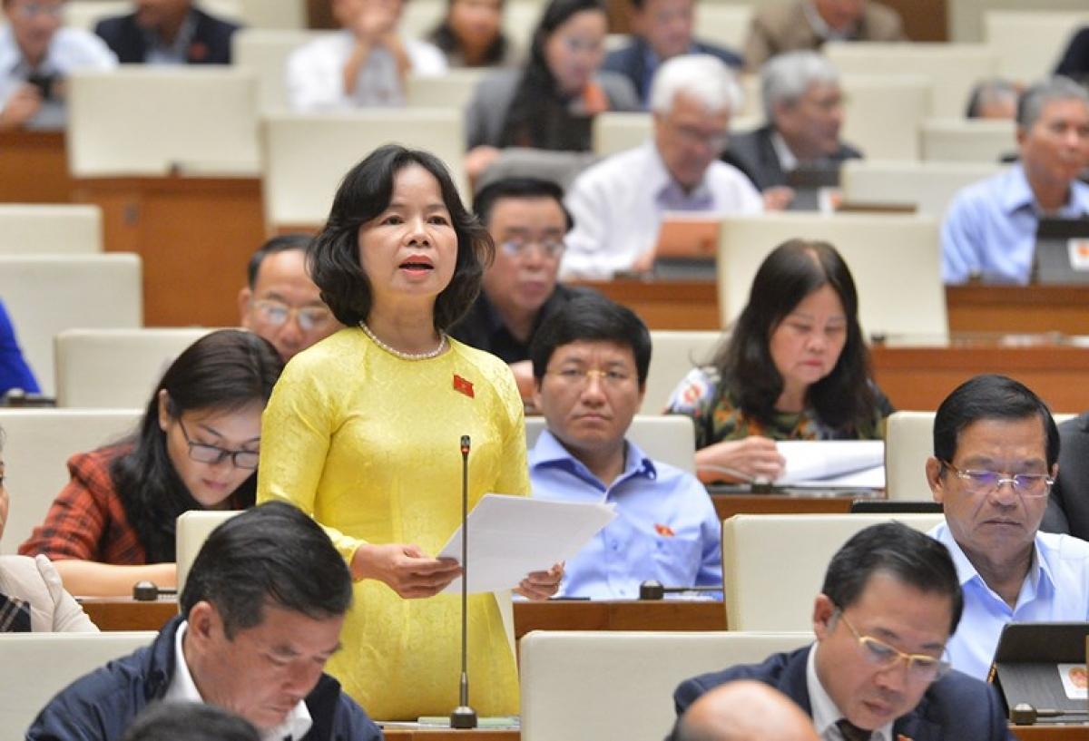 Một phiên họp của Quốc hội khóa XIV.