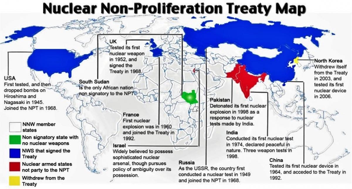 Con đường ngăn chặn phổ biến và giải trừ vũ khí hạt nhân còn đầy khó khăn, chông gai.Nguồn: adst.org