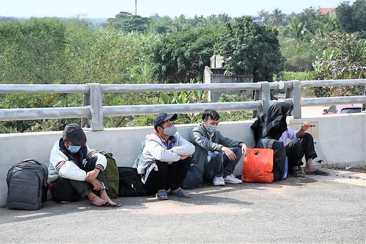4 hành khách trên xe taxi của Nguyễn Văn Hùng.