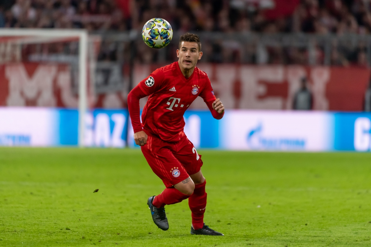 Trung vệ: Lucas Hernandez
