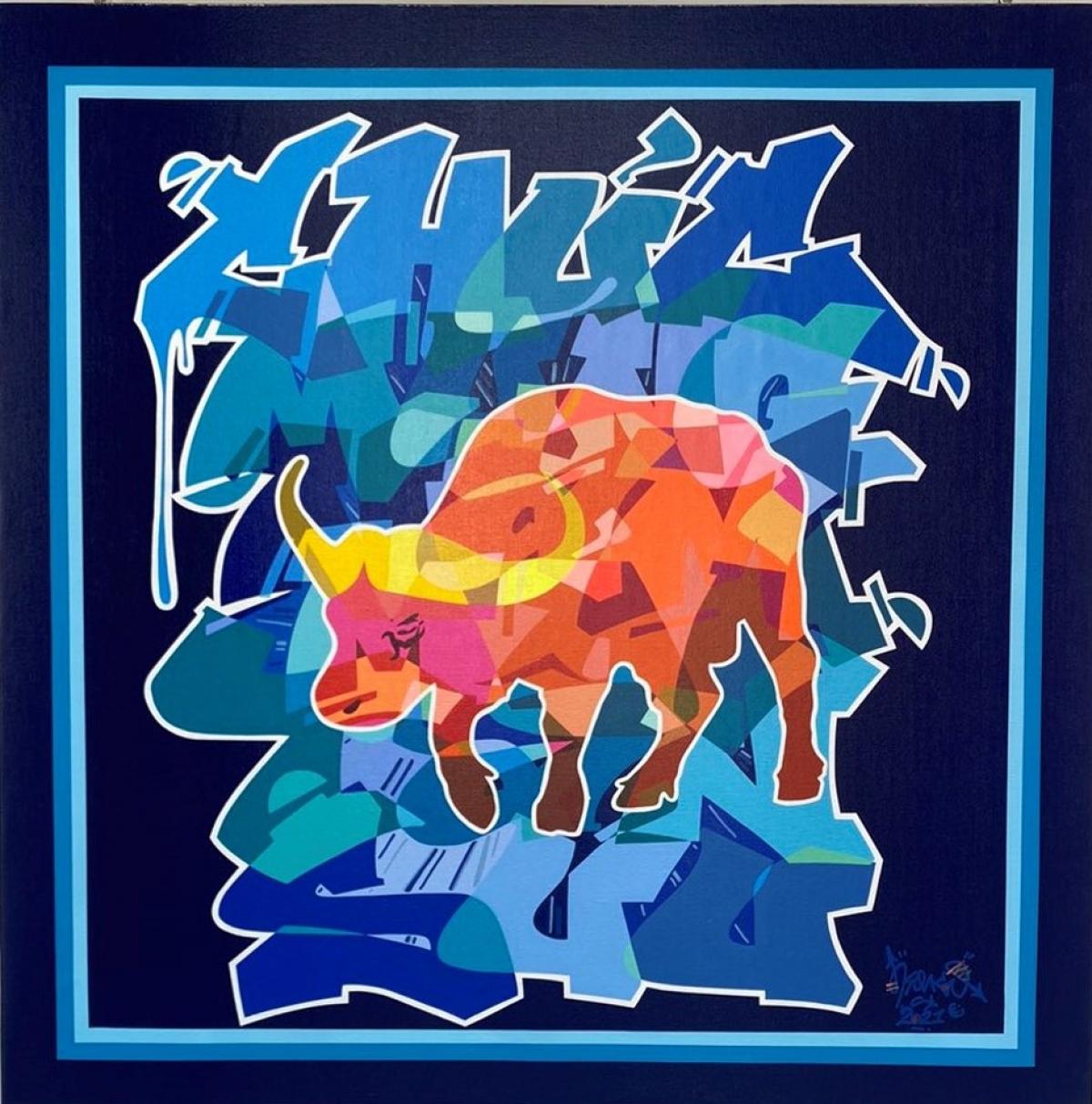 Biểu tượng Tân Sửu thăng hoa trong nghệ thuật đường phố Graffiti - Đài Phát  thanh và Truyền hình Thanh Hóa