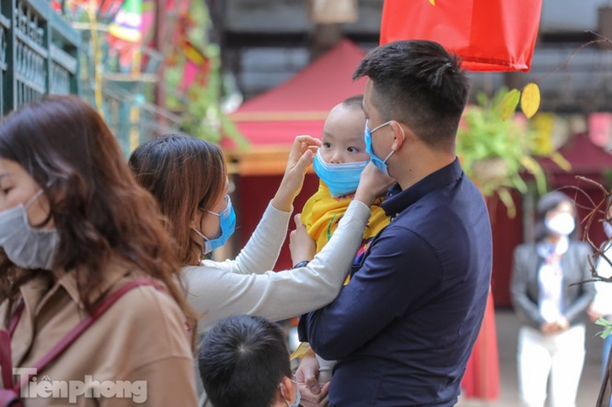 Mask coverings are mandatory in public places following the emergence of the virus in Vietnam.