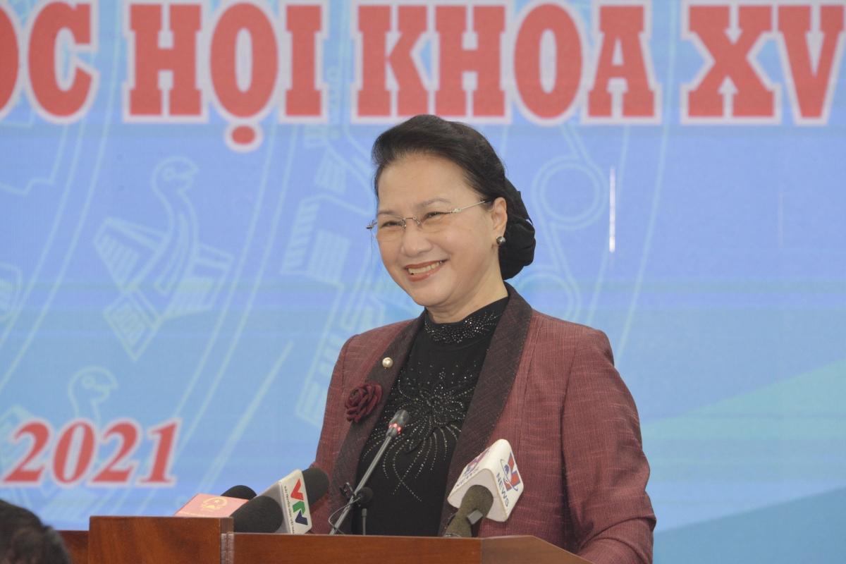 Chủ tịch Quốc hội Nguyễn Thị Kim Ngân. Ảnh: Lê Tuyết