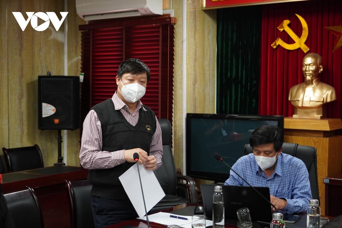 Phó Viện trưởng Vệ sinh dịch tễ Trung ương Trần Như Dương đang có mặt tại Cẩm Giàng, Hải Dương.