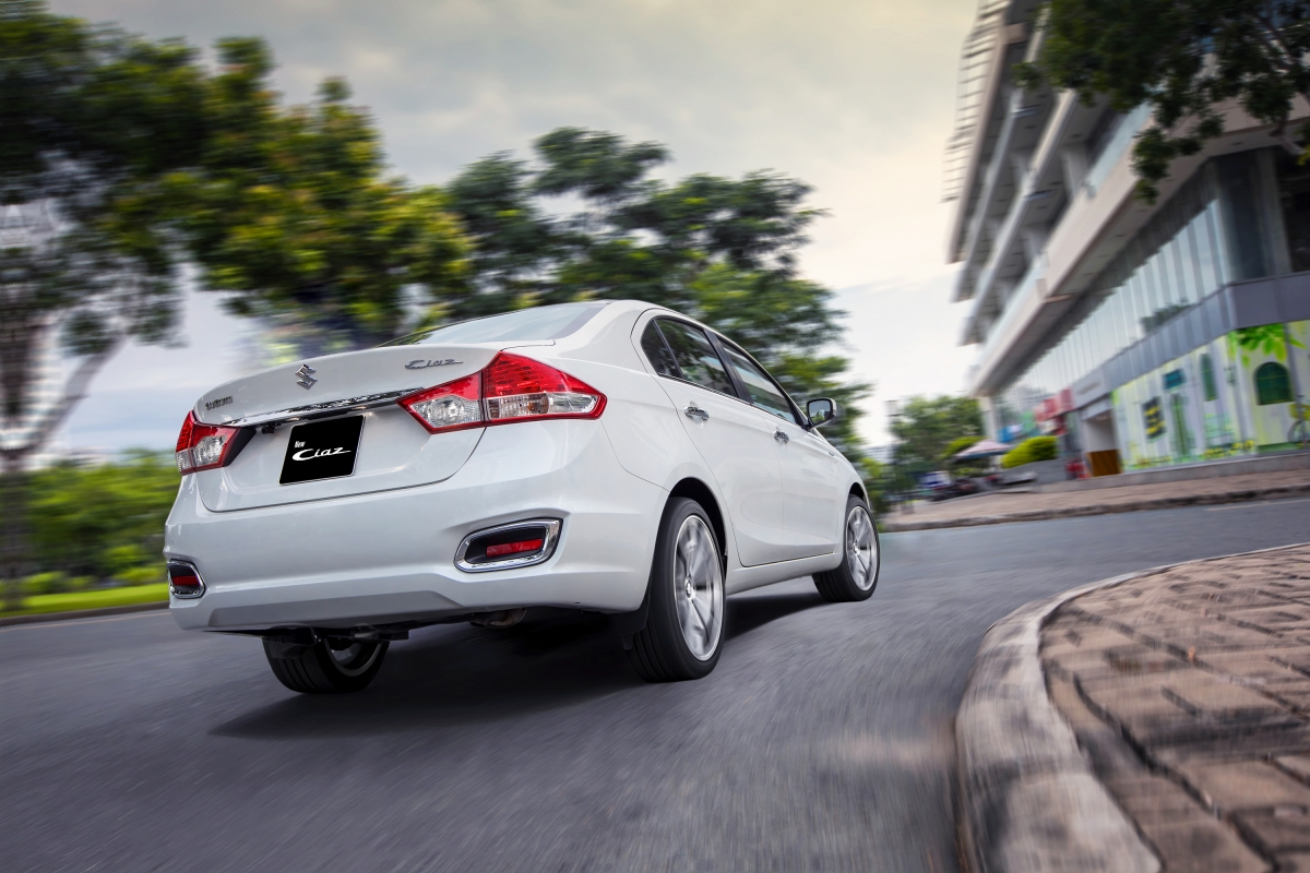 Tại thị trường Ấn Độ, Ciaz mới được phân phối như một chiếc sedan hạng C cao cấp, bởi hệ thống đại lý Nexa.