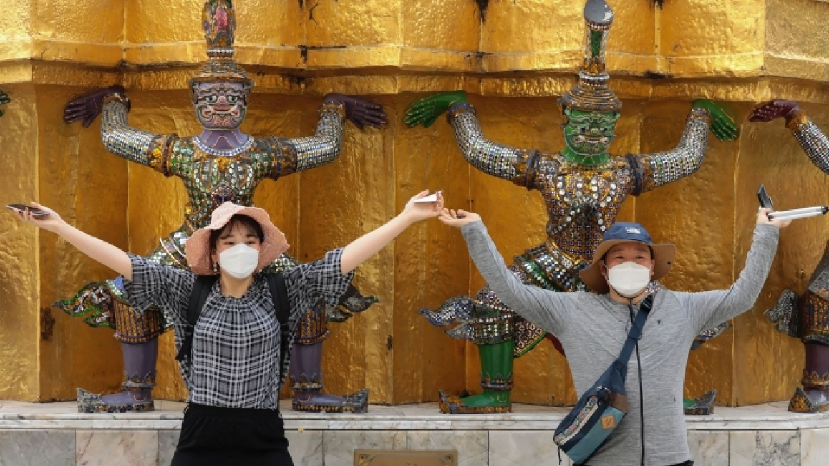 Chỉ tính riêng trong năm 2019, đã có 10,99 triệu lượt khách du lịch Trung Quốc ghé thăm Thái Lan. (Nguồn: AP)