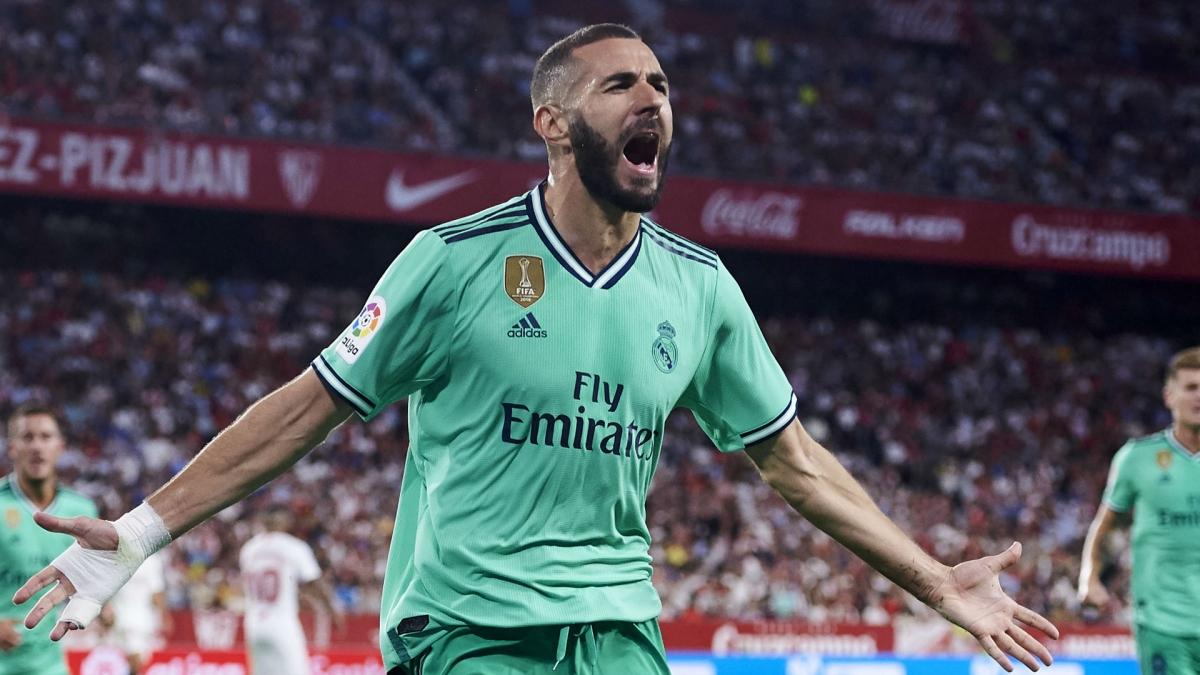 5. Karim Benzema (Lyon, Real Madrid) - 69 bàn thắng.