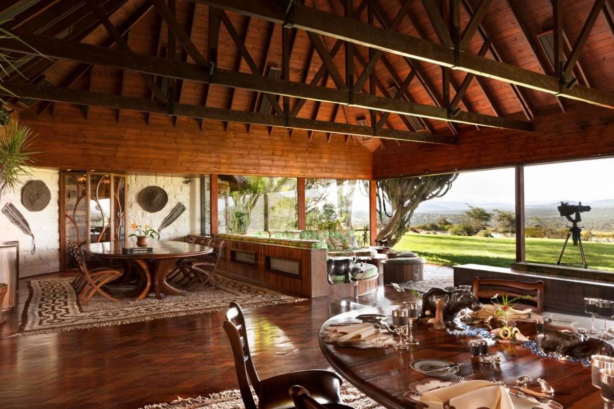 Tiền thuê căn biệt thự siêu đắt đỏ ở Kenya để nghỉ dưỡng là 229.600 USD/14 người.