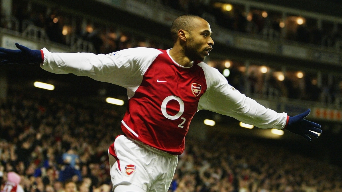 7. Thierry Henry (Monaco, Arsenal, Barcelona) - 50 bàn thắng.