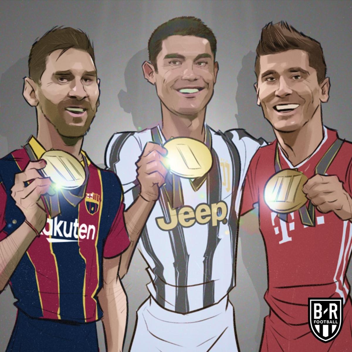 Top 3 chân sút vĩ đại nhất lịch sử Champions League/Cúp C1 châu Âu./.