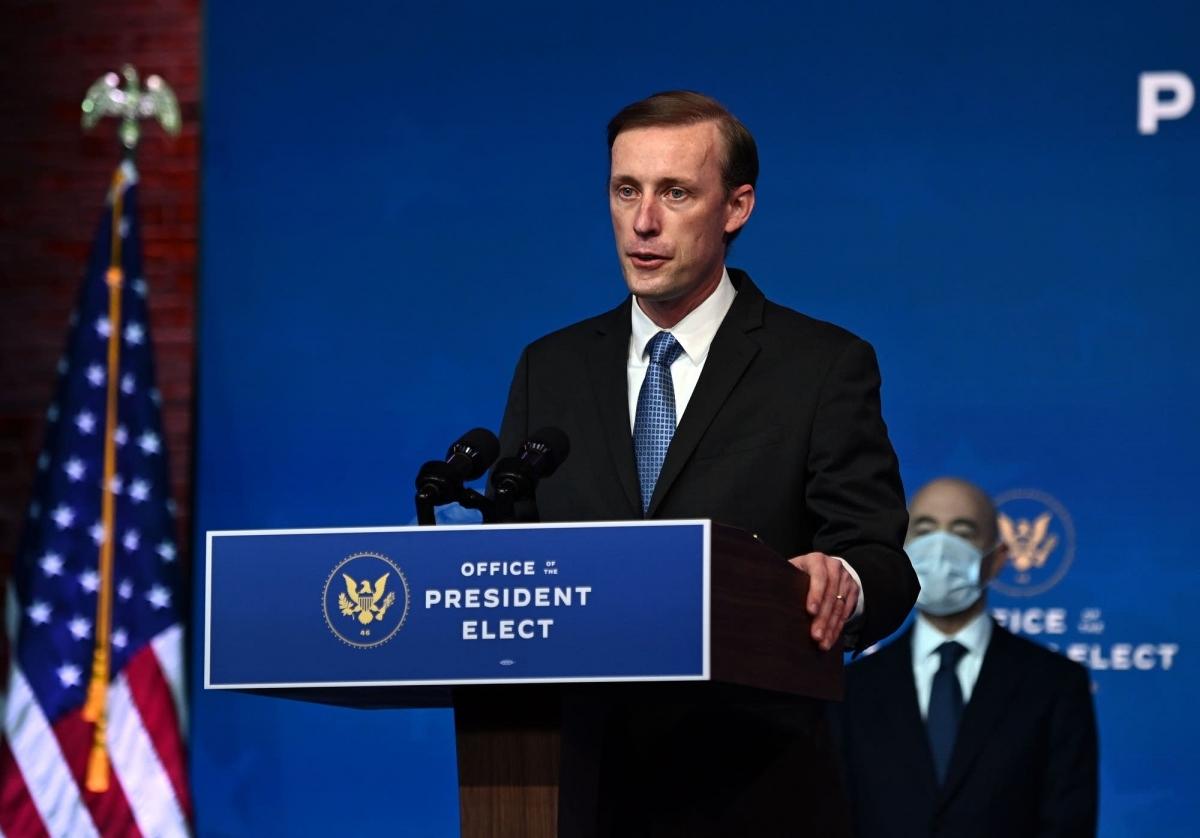 Cố vấn an ninh quốc gia Mỹ Jake Sullivan. Ảnh: AFP, Getty Images