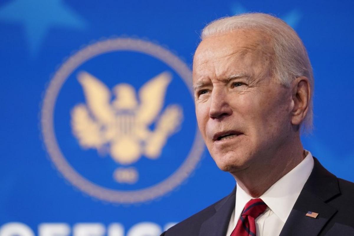 Tổng thống Mỹ Joe Biden. Ảnh: AP.