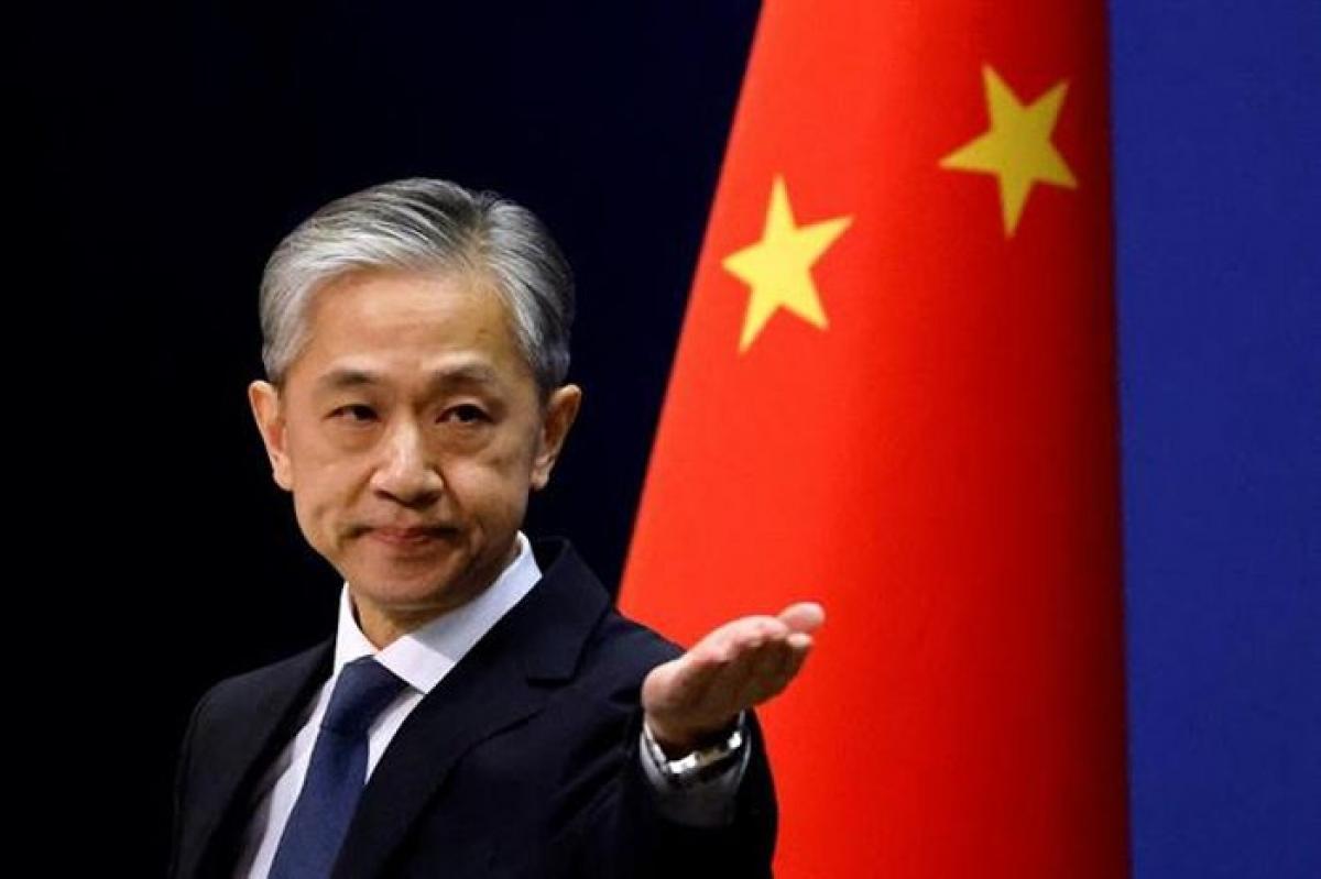 Người phát ngôn Bộ Ngoại giao Trung Quốc Uông Văn Bân. (Ảnh: Reuters).