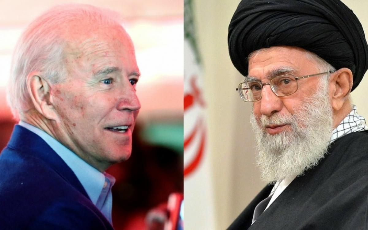 Tổng thống Mỹ Biden và Tổng thống Iran Rouhani. Ảnh: The Wire.