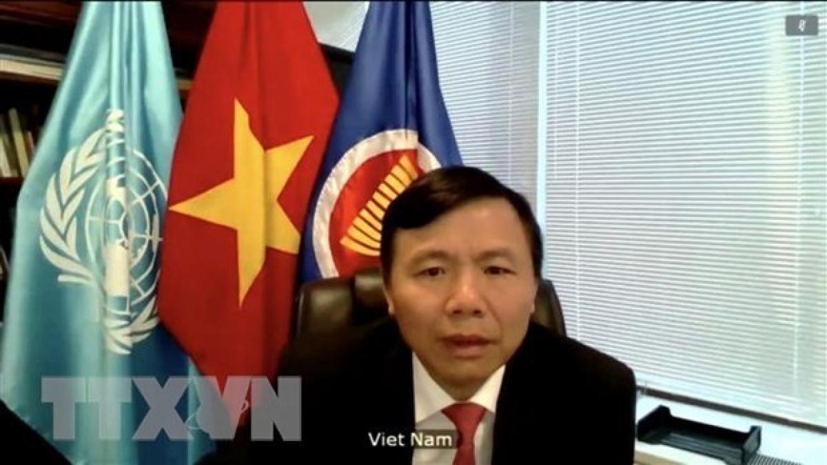 Ambassador Dang Dinh Quy, permanent representative of Vietnam to the United Nations. (Photo: VNA)