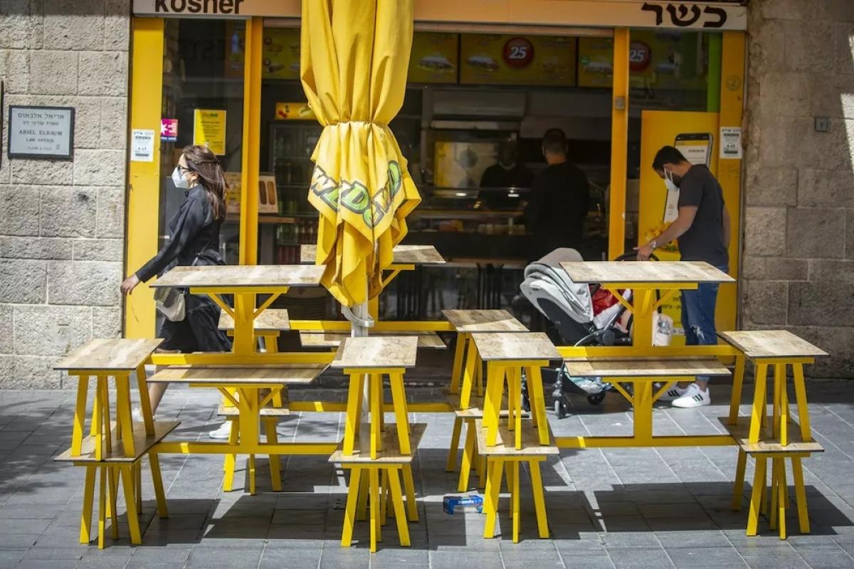 Israel ban hành lệnh giới nghiêm trong hơn một tuần lễ hội để phòng dịch Covid-19. Ảnh: I24news