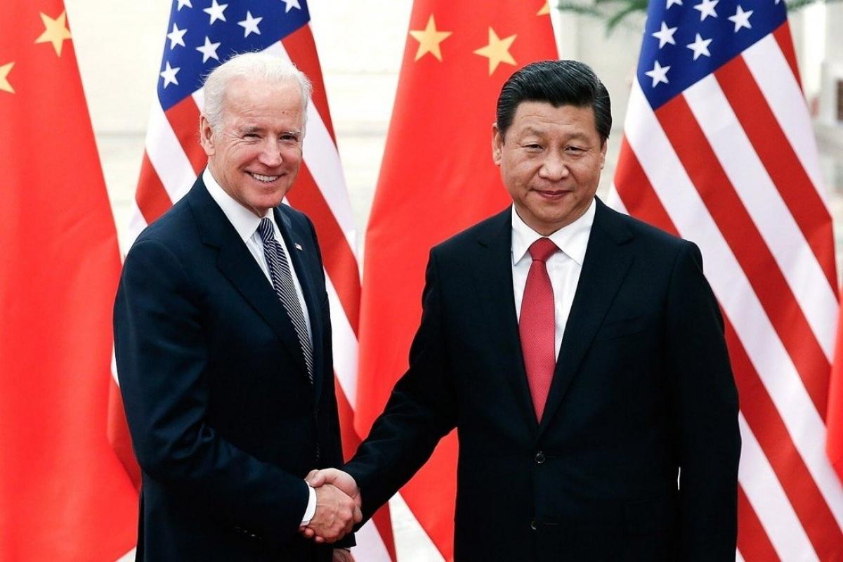 Ông Joe Biden khi còn là Phó Tổng thống và Chủ tịch Trung Quốc Tập Cận Bình tại Bắc Kinh, Trung Quốc vào năm 2013. Ảnh: TNS