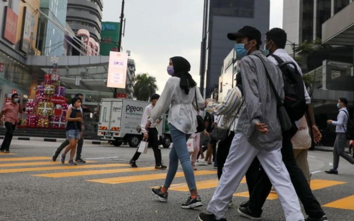 Đường phố Malaysia thời Covid-19. Ảnh: Straits Times.