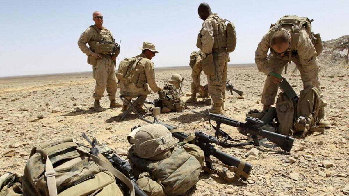 Quân đội Mỹ tại Trung Đông. Ảnh: Reuters