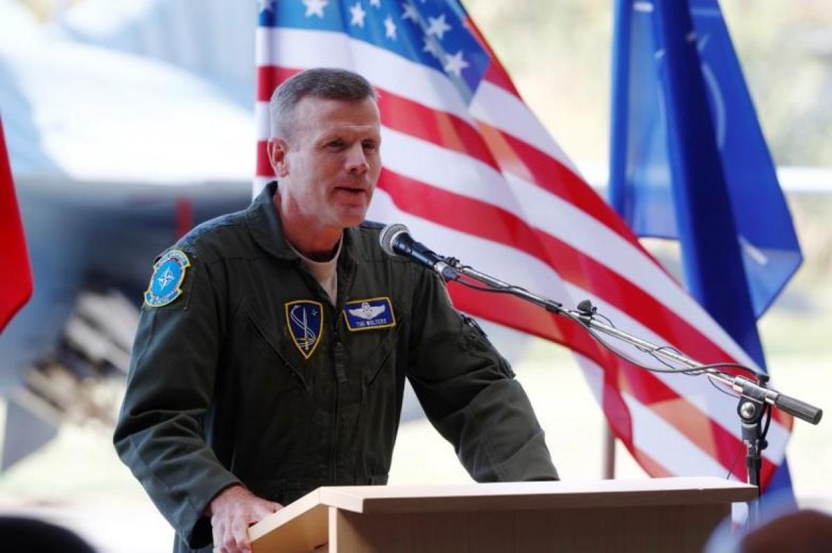 Tư lệnh Bộ Chỉ huy châu Âu, Tướng Không quân Tod D. Wolters. Ảnh: Reuters